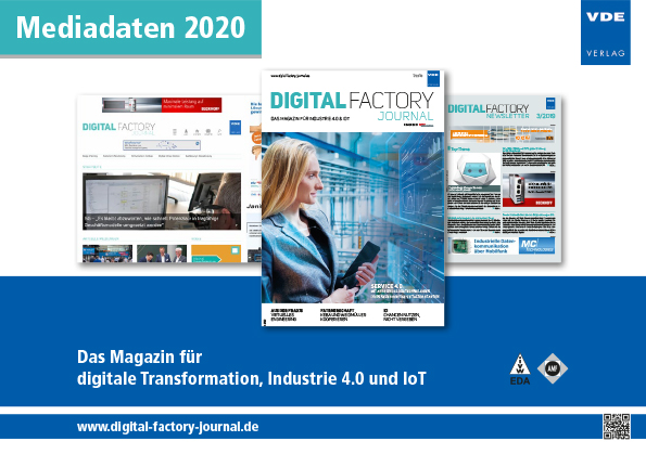 Cover Digital Factory Journal Mediadaten 2020